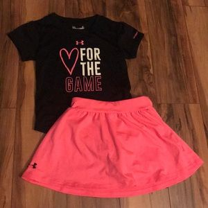 Under armor 4t outfit EUC